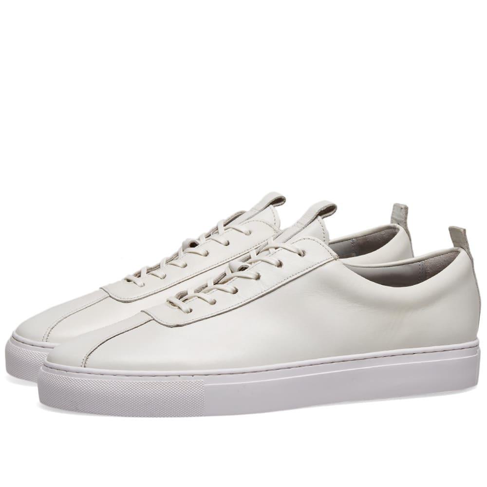 Photo: Grenson Sneaker 1 White Calf