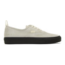 Common Projects Grey Suede Four Hole Sneaker