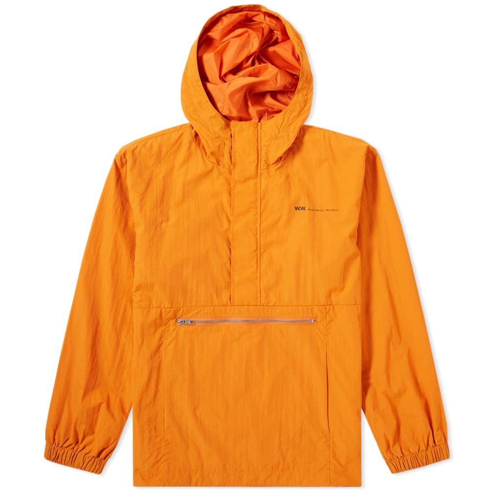 Photo: Wood Wood Loy Popover Jacket Orange