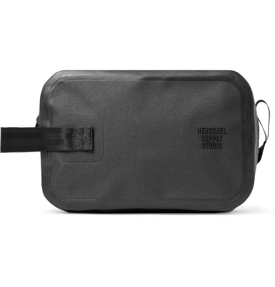 Photo: Herschel Supply Co - Studio Chapter Tarpaulin Wash Bag - Black