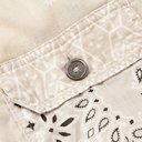 KAPITAL - Patchwork Bandana-Print Cotton Trucker Jacket - White