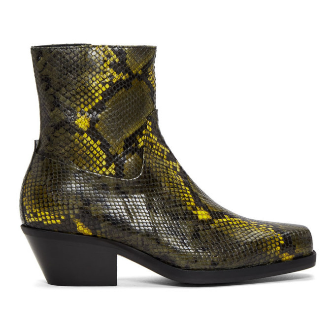 Photo: MISBHV Green Snake Iggy Boots