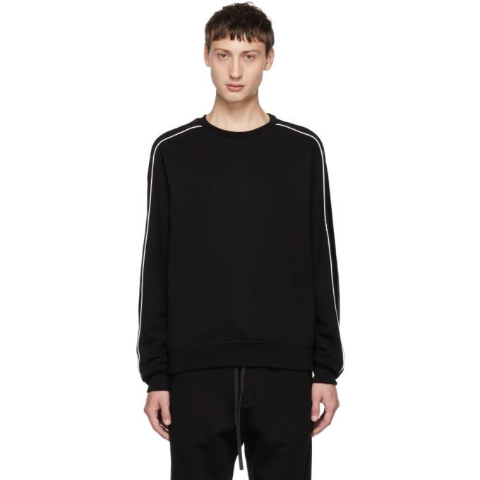 Photo: 3.1 Phillip Lim Black Panelled Sweatshirt