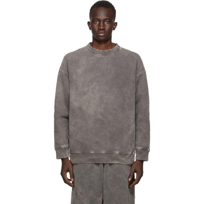 Photo: N.Hoolywood Grey Faded Sweatshirt
