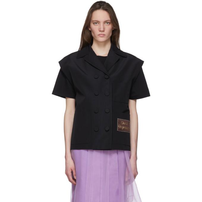 Photo: Gucci Black Gucci Orgasmique Vest