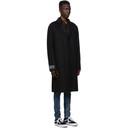 Ksubi Black Wool Mogul Coat