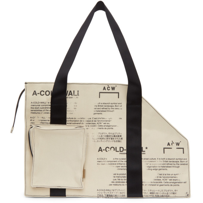 Photo: A-Cold-Wall* Off-White Canvas V2 Tote