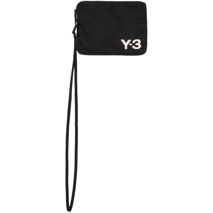 Y-3 Black Logo Pouch