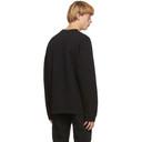 Raf Simons Black Destroyed Sweatshirt