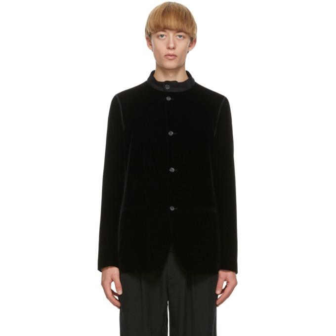 Photo: Giorgio Armani Black Velvet Jacket