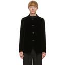 Giorgio Armani Black Velvet Jacket
