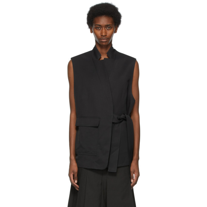 Photo: 3.1 Phillip Lim Black Tie Vest