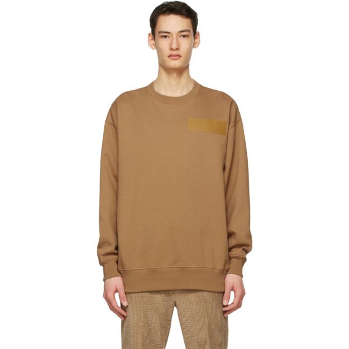 Photo: Acne Studios Tan Dizonord Edition Oversized Sweatshirt
