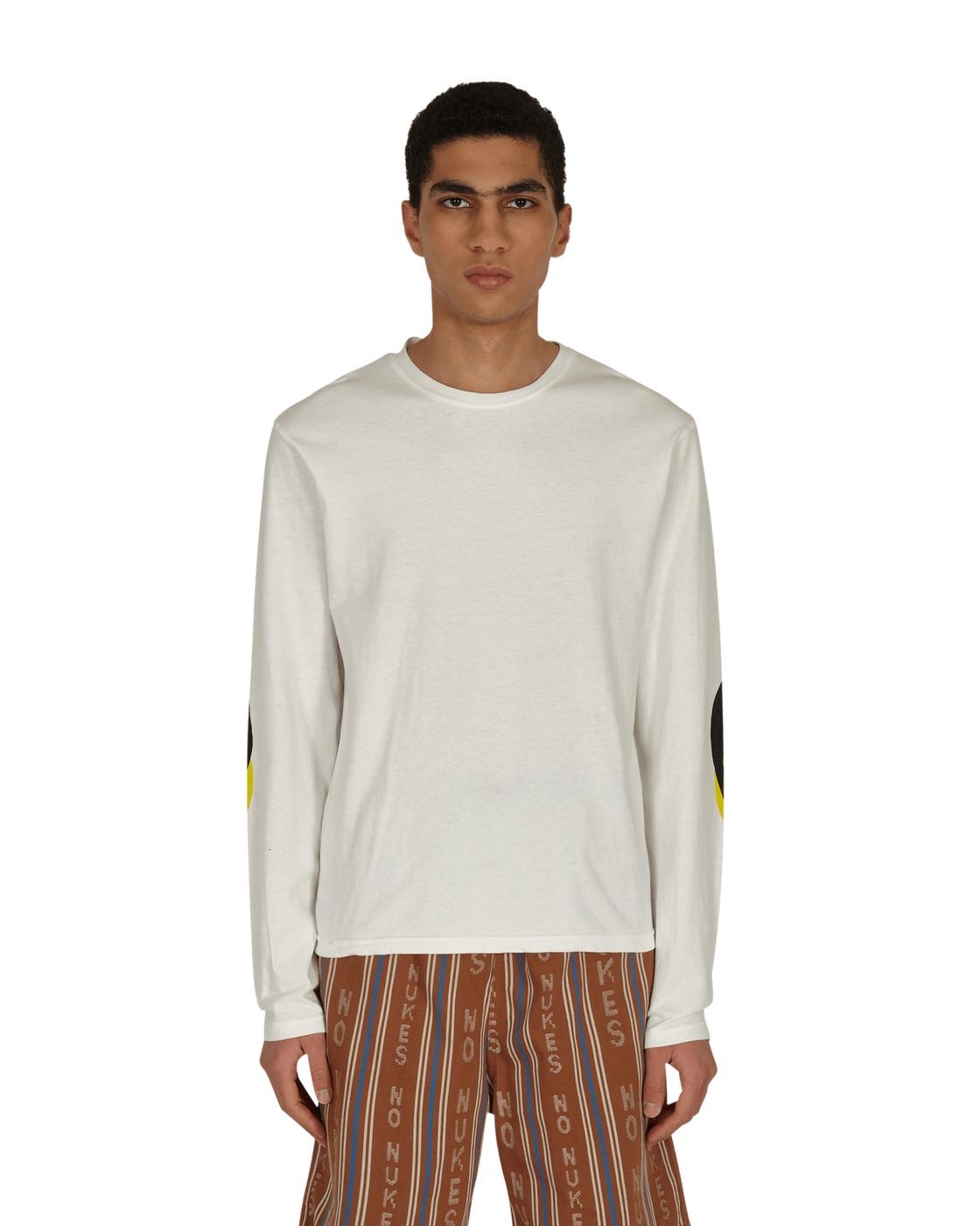 Photo: Kapital Jersey Capital Patch Longsleeve T Shirt White