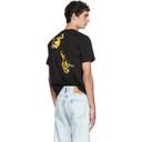 Raf Simons Black Slim Fit Astronaut T-Shirt