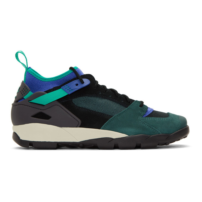 Photo: Nike Green and Black ACG Air Revaderchi Sneakers