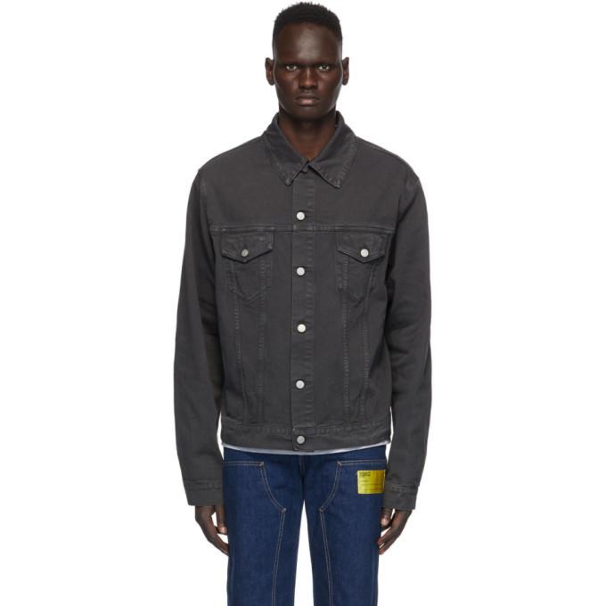 Photo: Maison Margiela Grey Denim Fade Jacket