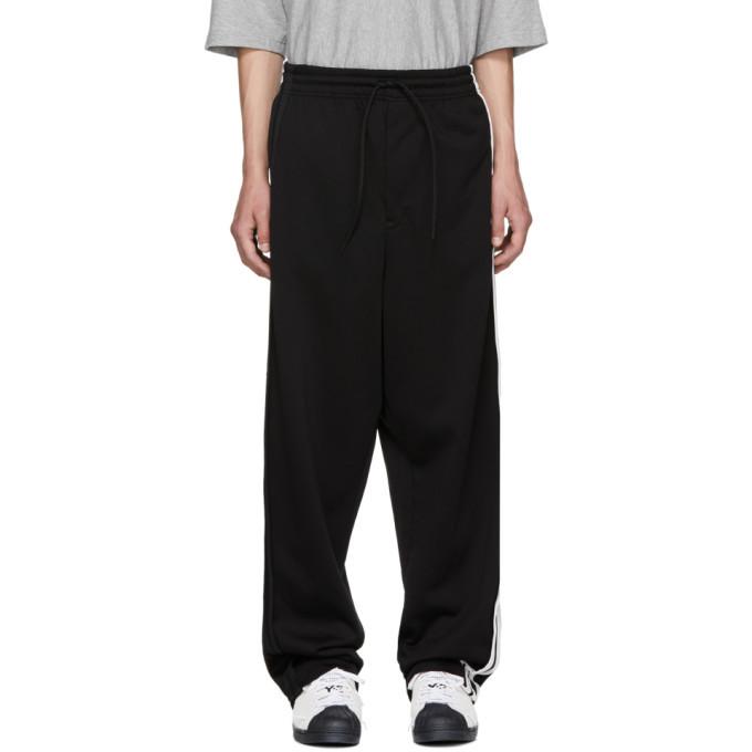 Y-3 Black 3-Stripe Sweatpants