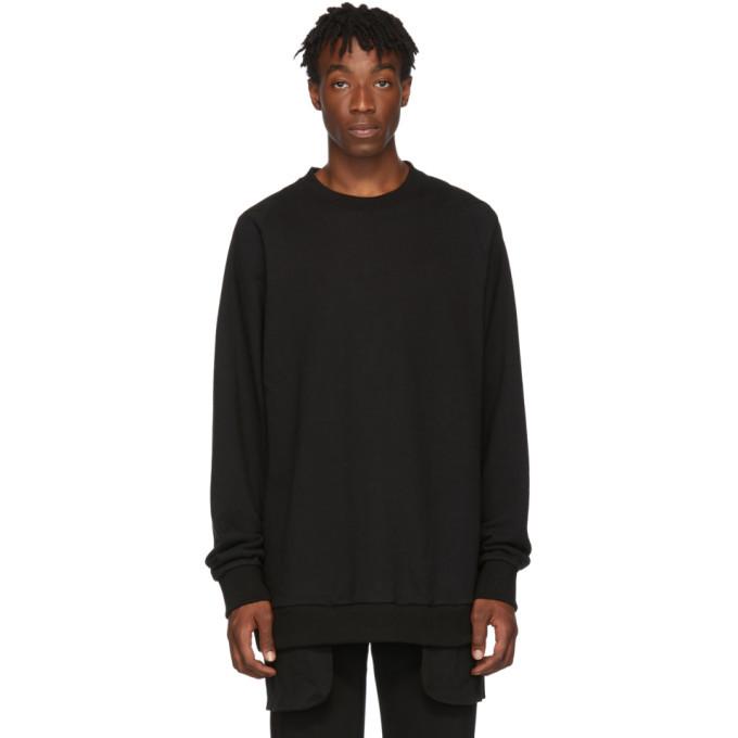 Photo: D.Gnak by Kang.D Black Layered Sweatshirt
