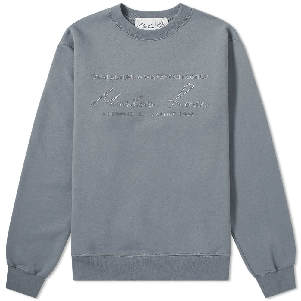 Photo: Martine Rose Collection Date Crew Sweat