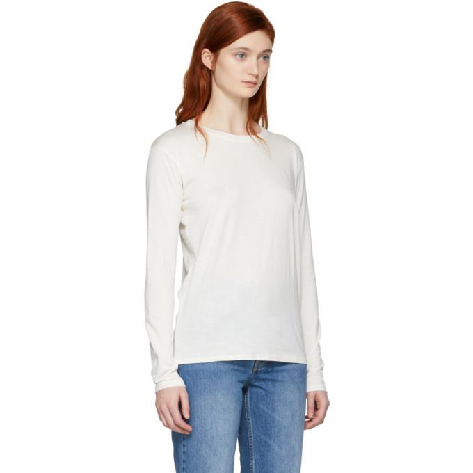 Won Hundred White Long Sleeve Emina T-Shirt