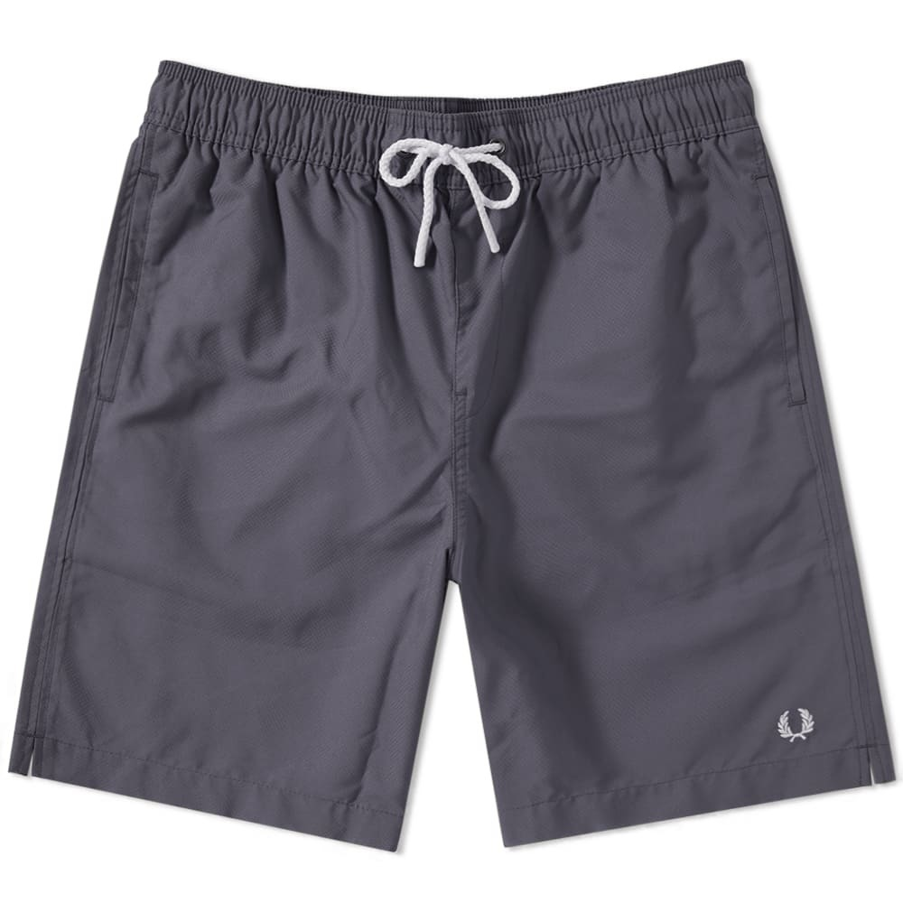 Photo: Fred Perry Textured Swim Short Grey