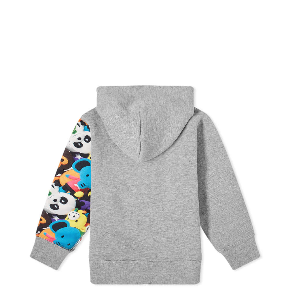 A Bathing Ape Kids Milo Monogram Sta Hooded Vest