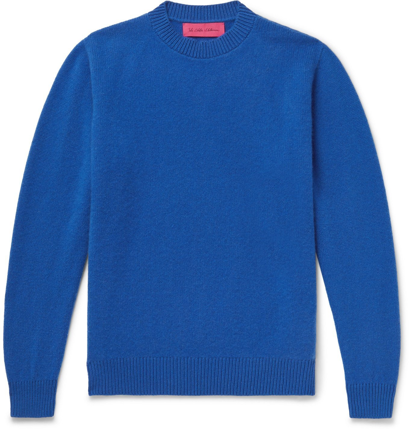 Photo: The Elder Statesman - Cashmere Sweater - Blue
