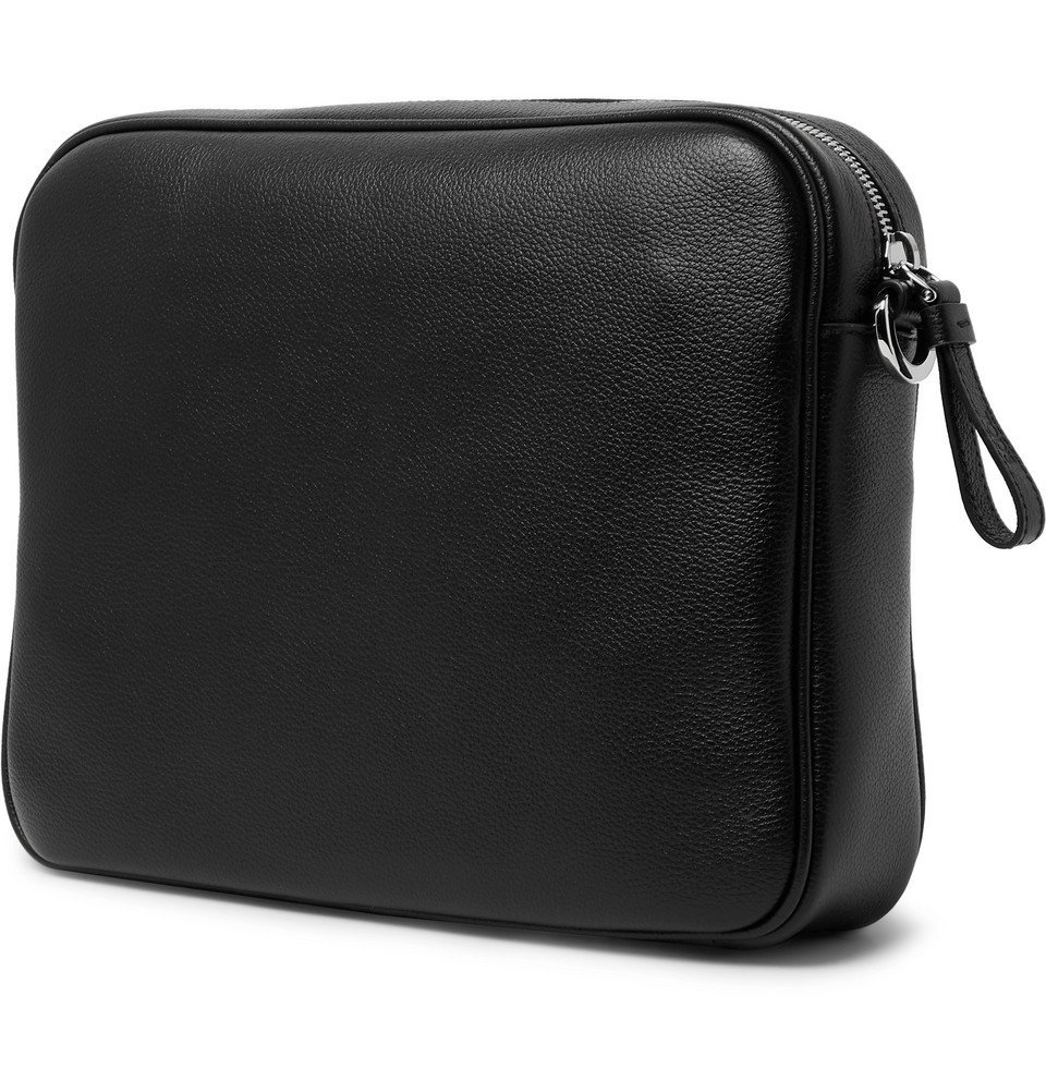 Tod's - Leather Messenger Bag - Black