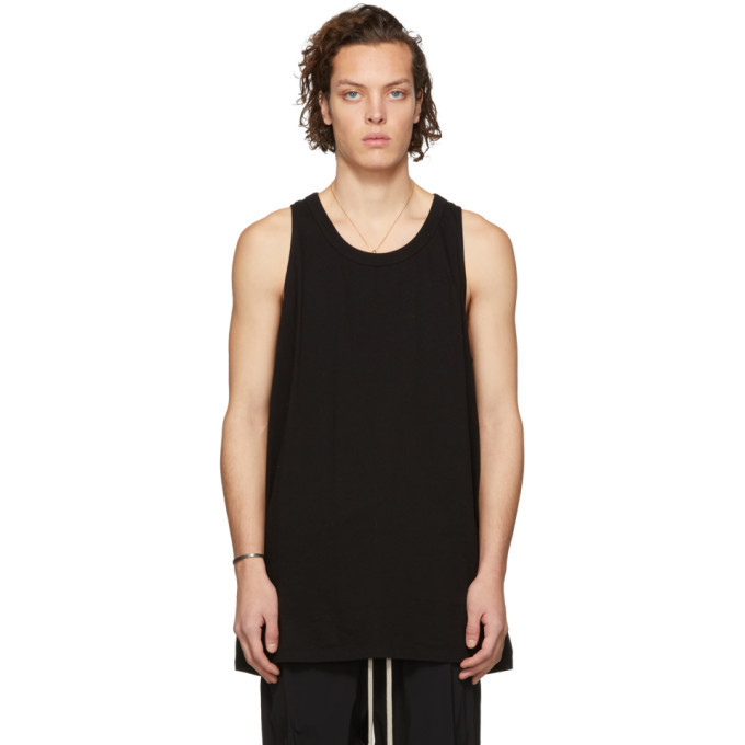 Photo: Rick Owens Black Loose Tank Top