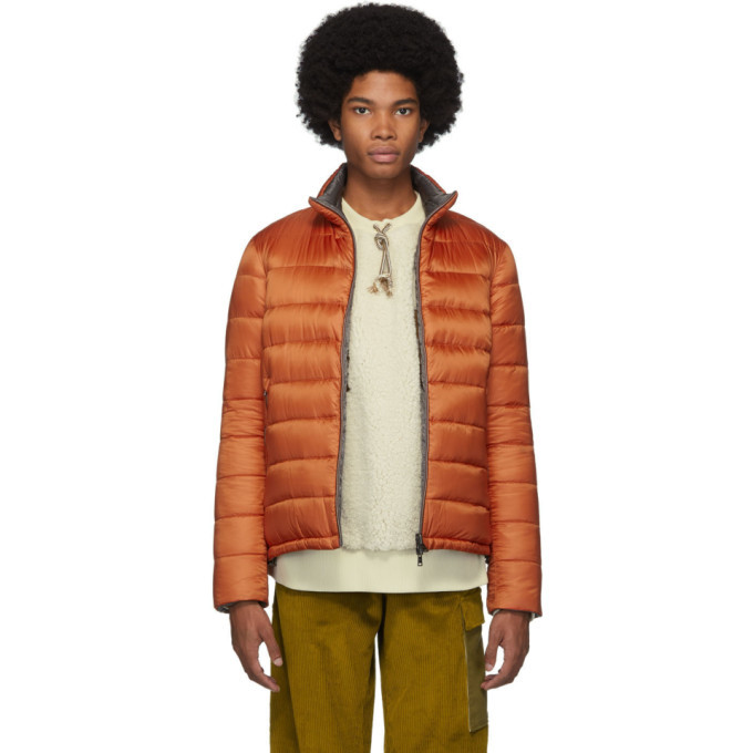 Photo: Herno Reversible Orange Ultralight Down Jacket