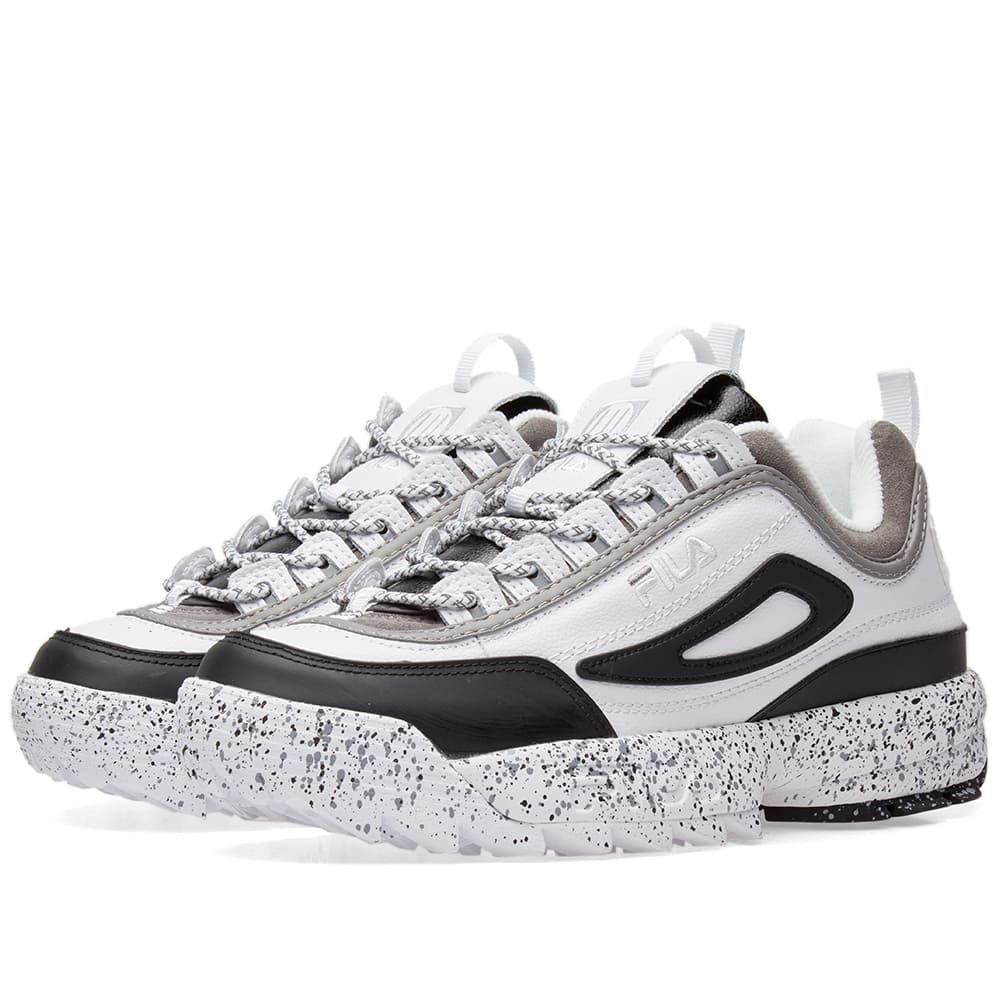Photo: Liam Hodges x Fila Disruptor II Sneaker White