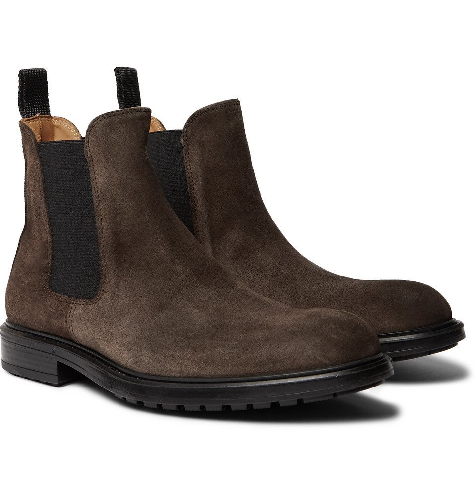 Photo: Officine Generale - Suede Chelsea Boots - Brown