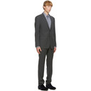 Giorgio Armani Grey Single-Breasted Suit