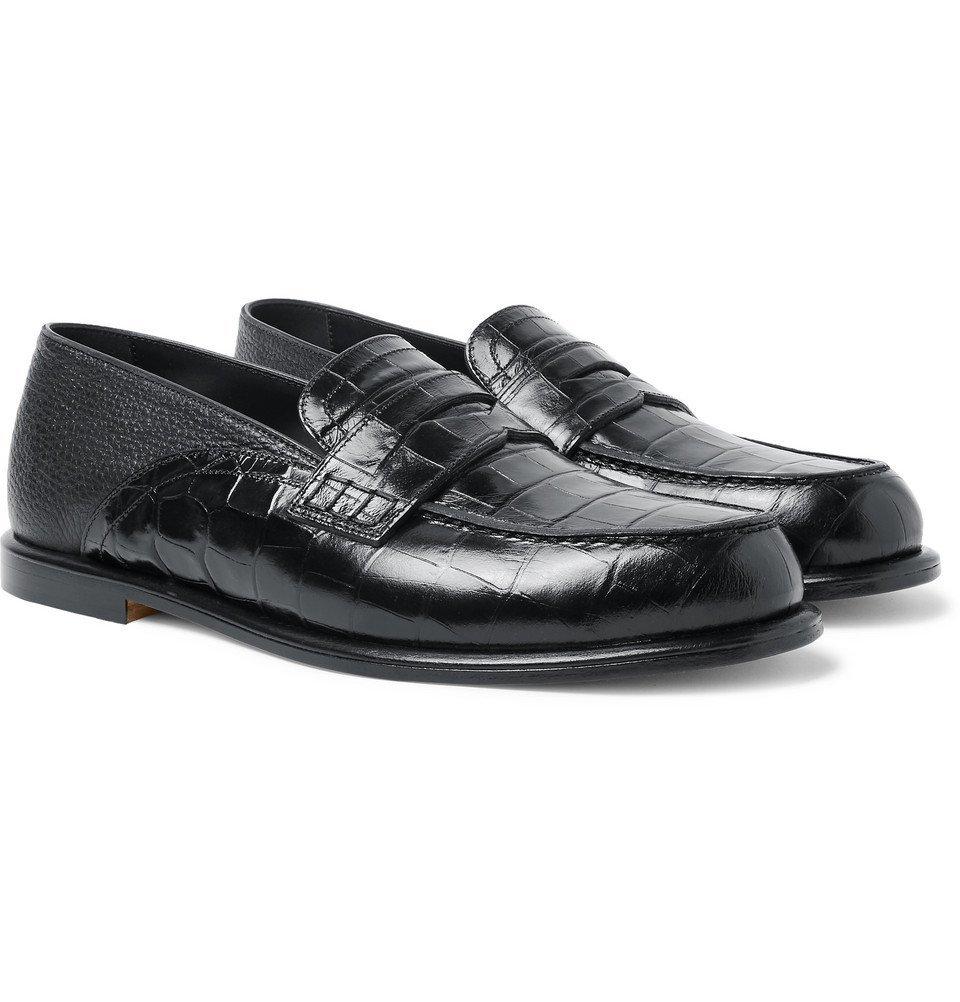 Full-Grain Leather Penny Loafers - Men