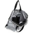 Raf Simons Silver and Black Eastpak Edition Poster Tote
