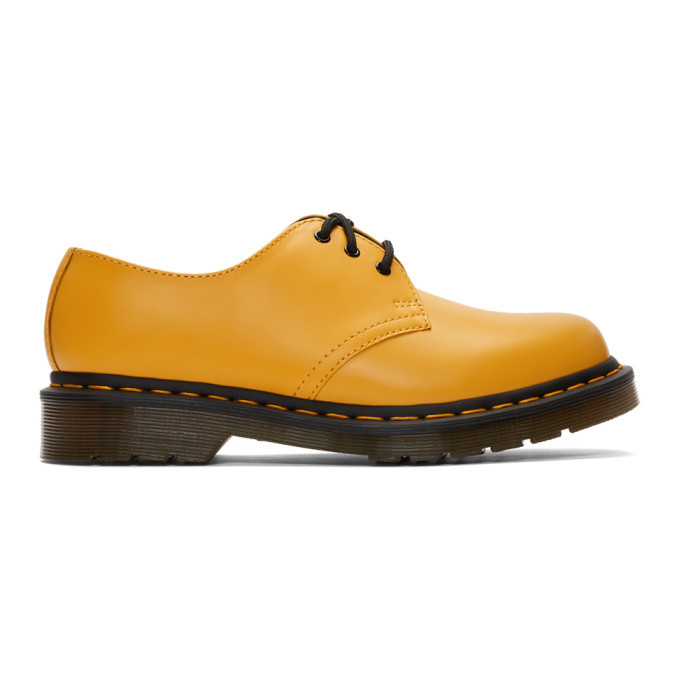 Photo: Dr. Martens Yellow 1461 Derbys