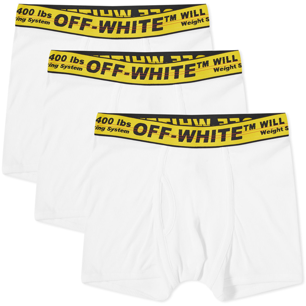 Photo: Off-White Tripack Classic Industrial Boxer