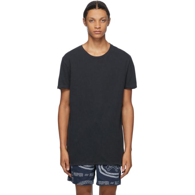 Ksubi Black Seeing Lines T-Shirt