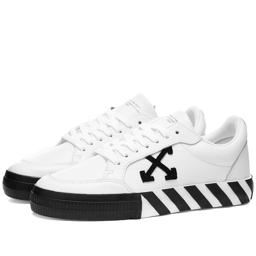Photo: Off-White Low Vulcanised Leather Sneaker