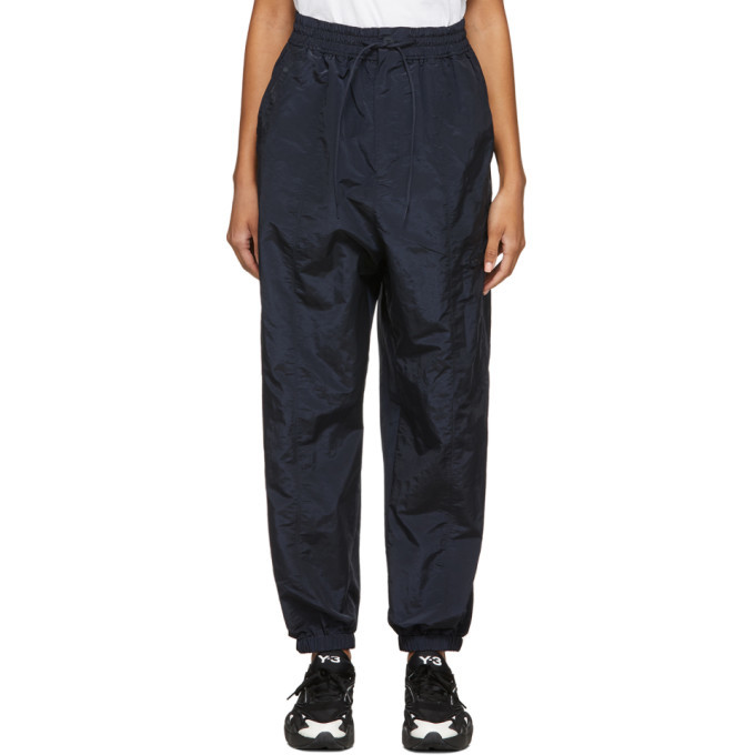 Photo: Y-3 Navy Classic Shell Lounge Pants