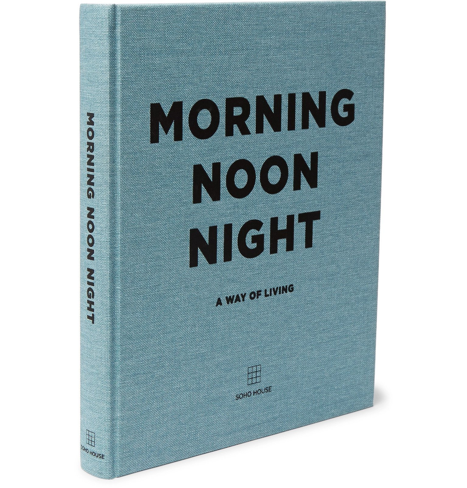 Photo: Soho Home - Morning Noon Night Hardcover Book - Blue