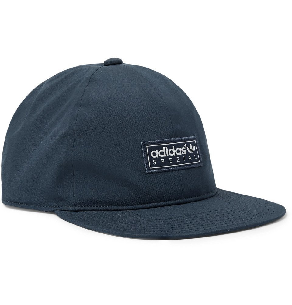 Photo: adidas Consortium - SPEZIAL Logo-Appliquéd Stretch-Shell Baseball Cap - Navy