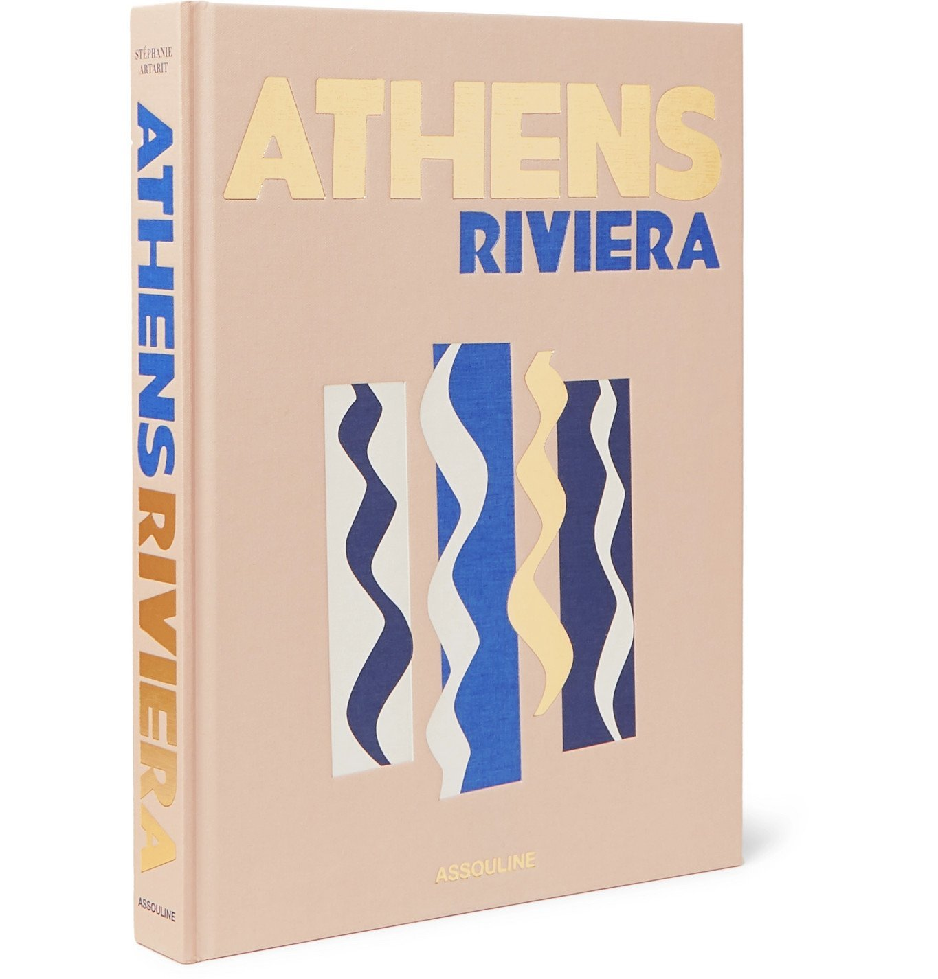 Photo: Assouline - Athens Riviera Hardcover Book - Brown