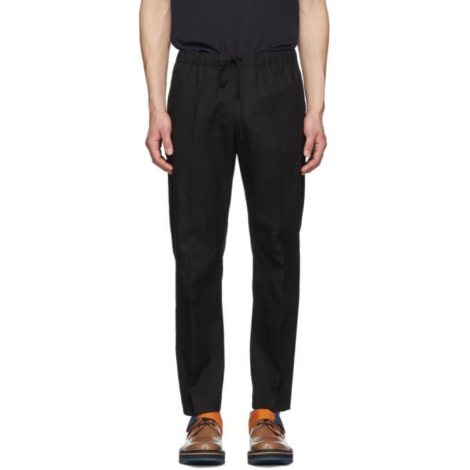 Photo: Dries Van Noten Black Perkino Trousers