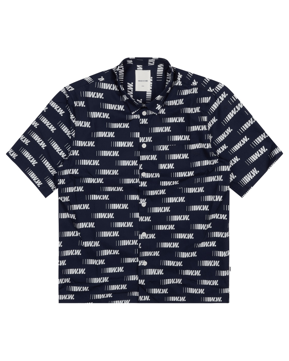 Photo: Wood Wood Thor Shirt Navy Aop