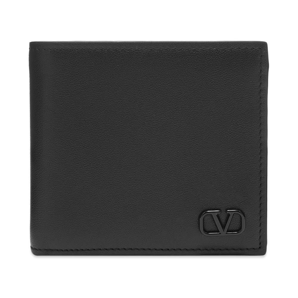 Photo: Valentino Leather Go Logo Billfold Wallet