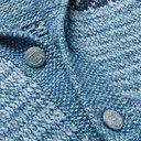 RRL - Cotton, Linen and Wool-Blend Jacquard Cardigan - Blue