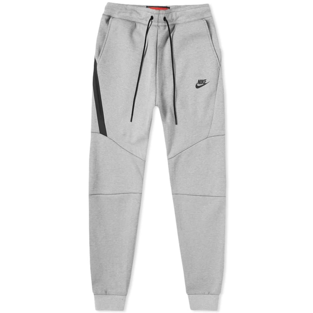 Photo: Nike Tech Fleece Jogger Barely Grey, Heather & Black