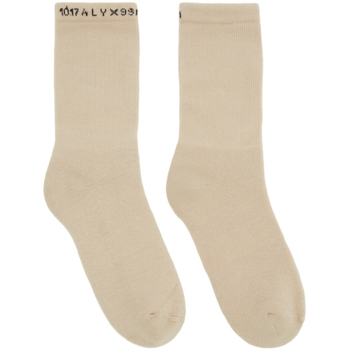 Photo: 1017 ALYX 9SM Three Pack Logo Socks